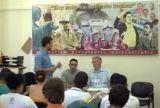 Alan Woods habla ante estudiantes cubanos