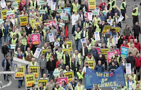 Irlanda: la crisis económica se agudiza y los trabajadores se movilizan