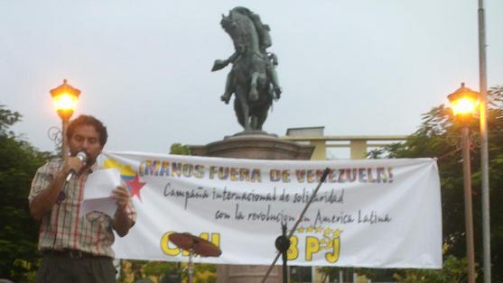 Francia: Manos Fuera de Venezuela de gira con SKA-P