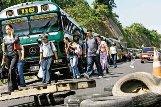 El paro del transporte beneficia a la gran burguesía y combate al gobierno de izquierda