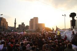 Los trabajadores egipcios toman el mando