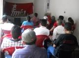 Gran interés en el FMLN de Tonacatepeque durante el conversatorio sobre la revolución árabe