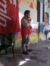 Debate en Santiago Texacuangos  de la crisis del capitalismo y su efecto en los partidos obreros