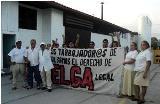 Entrevista a una obrera en huelga del sidndicato de la empresa Lido