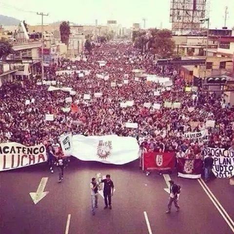 México: La indignación y rabia se tienen que convertir en organización y lucha