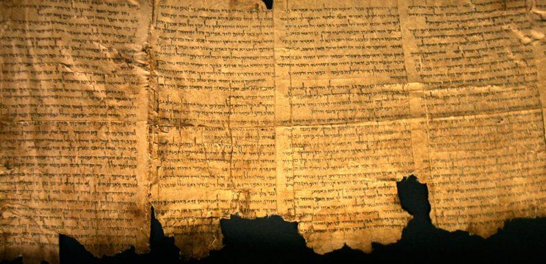 Los Rollos del Mar Muerto y el comunismo de los primeros cristianos