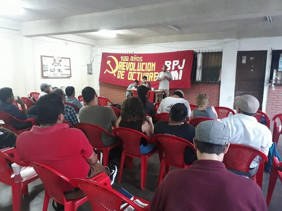 Presentación de Stalin última obra de León Trotsky