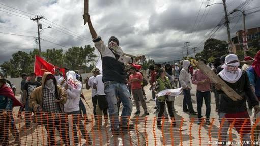 Levantamiento revolucionario en Honduras contra el fraude electoral