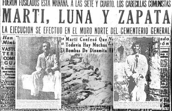 Apuntes sobre el levantamiento indigena-campesino de 1932