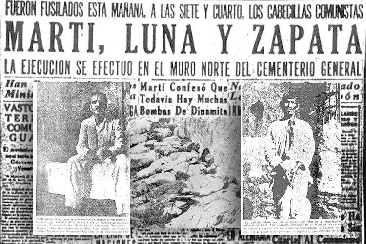 Apuntes Sobre El Levantamiento Indigena Campesino De 1932