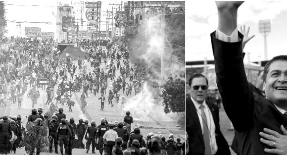 Honduras: La débil dictadura se impone acosado por la lucha de las masas