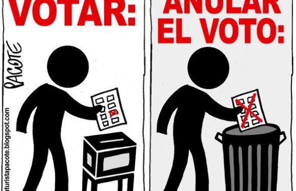 Las elecciones 2018 y el voto nulo