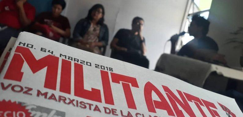 """Informe de la charla sobre los """"Resultados de las Elecciones 2018"""""""