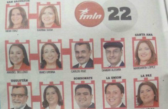 "La vieja guardia del FMLN ""conquista"" curules legislativos"