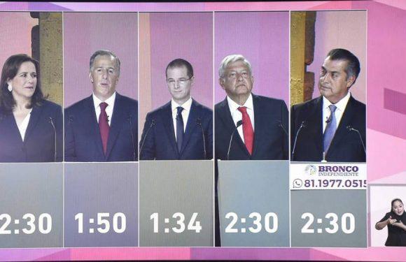 México: Balance del primer debate presidencial