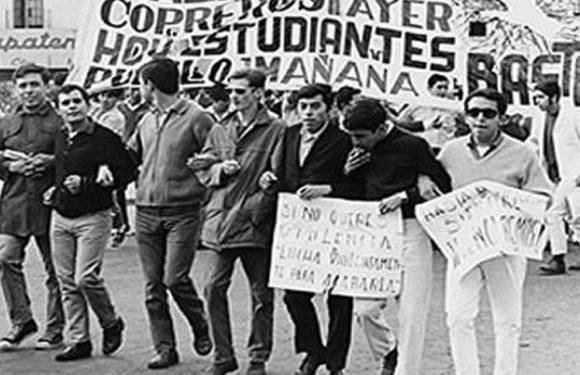 México: Movimientos estudiantiles previos a 1968