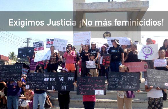 ¡Alto a los ataques contra las mujeres! ¡No más feminicidios!