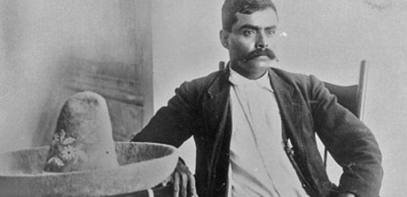 Emiliano Zapata en la revolución mexicana