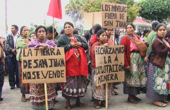 Resistencia de los pueblos en Guatemala