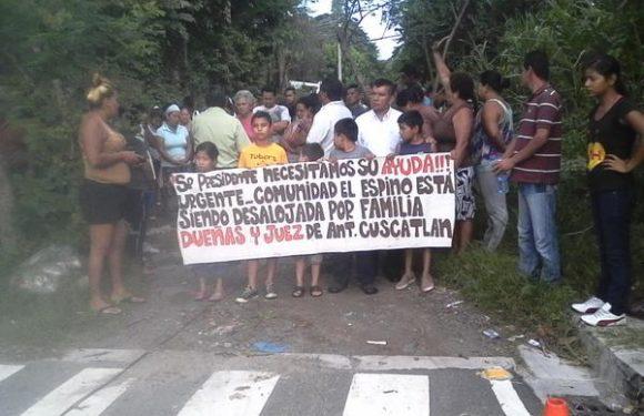 Comunidad El Espino ¿Derechos para quién?