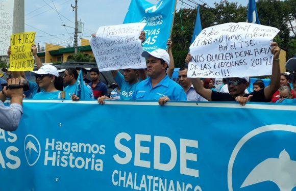 Movilización de Nuevas Ideas al TSE – Entrevista a Ely Ayala