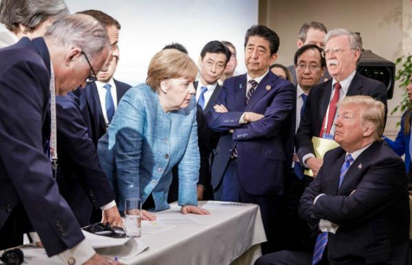 La cumbre del G7 termina en el caos