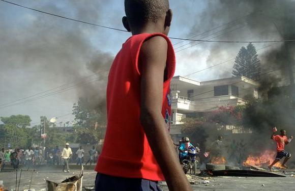 Haití en rebelión: protestas masivas y huelga general contra alza del precio del combustible