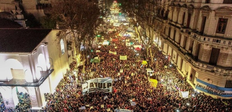 Argentina: insurrección universitaria