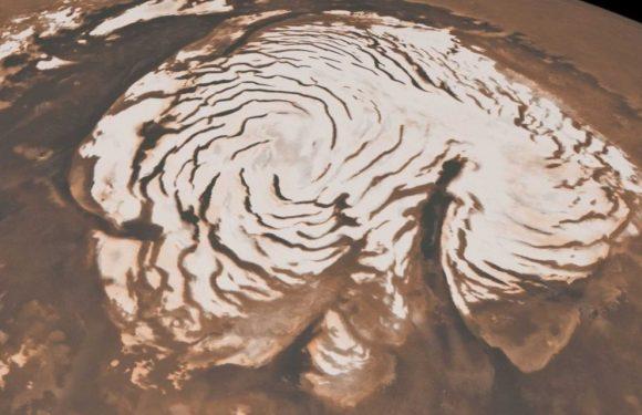 El descubrimiento de agua líquida en marte y la visión materialista del universo