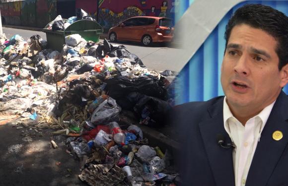 Alcalde d'Aubuisson y ARENA atacan de nuevo, Santa Tecla hundida entre la basura y el despotismo