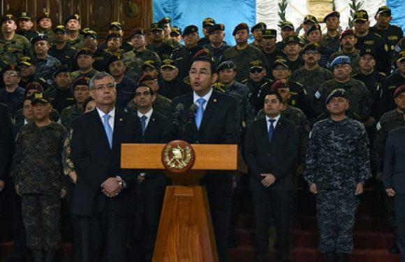 Guatemala: Cancelación de la CICIG y  las contradicciones del régimen