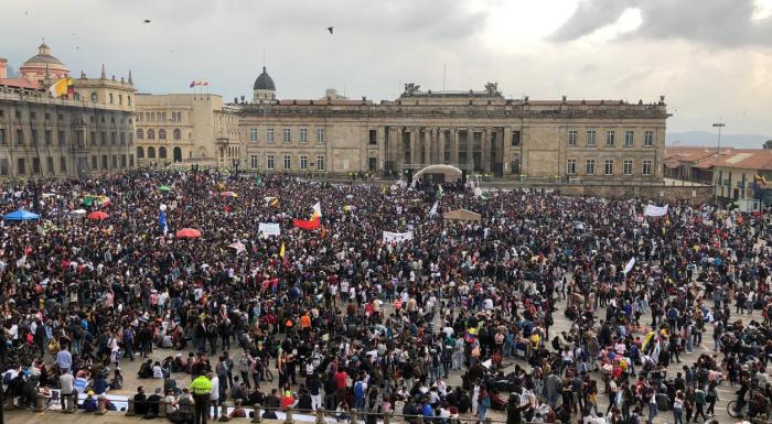 Colombia: el estudiantado se toma las calles