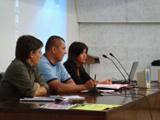 Acto en la Universidad Autónoma de Barcelona (Estado Español) contra el golpe en Honduras